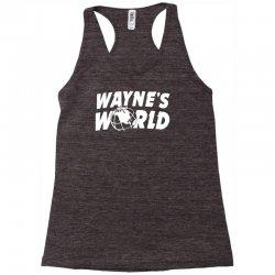 wayne's world Racerback Tank   Artistshot