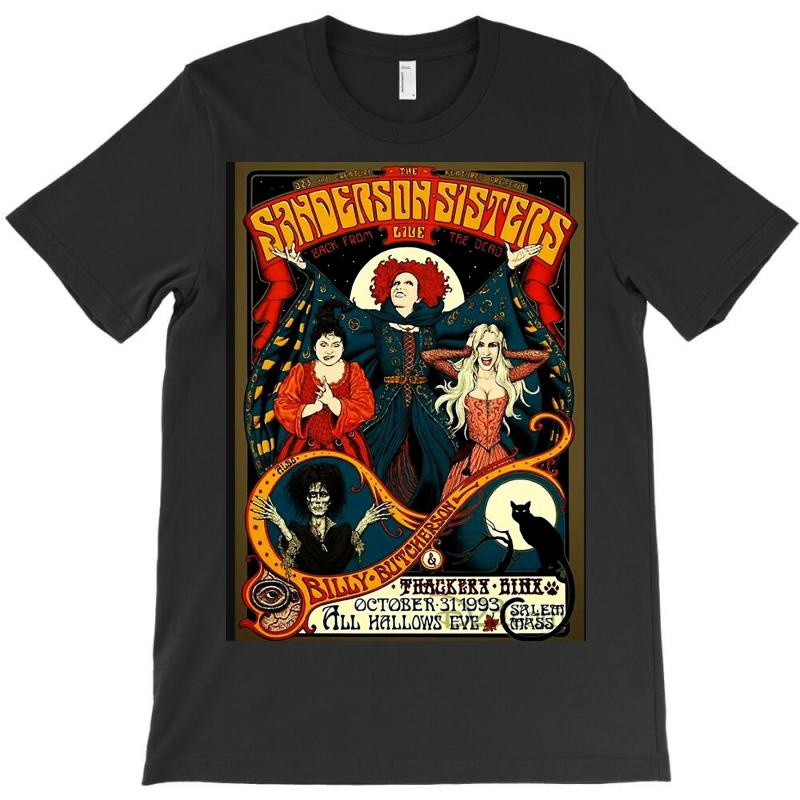 7fe6bc158 Custom Hocus Pocus Sanderson Sisters T-shirt By Killakam - Artistshot