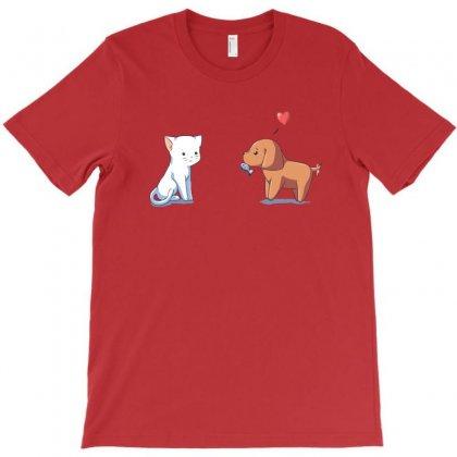 Optimistic Courtship T-shirt Designed By Rita