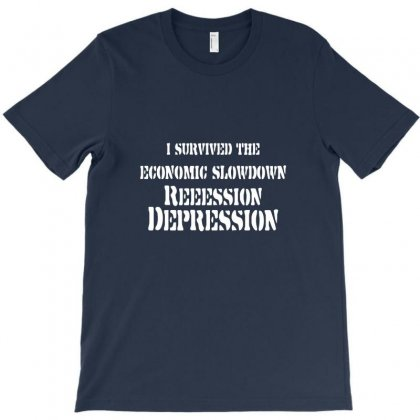 Survived The Depression T-shirt Designed By Rita