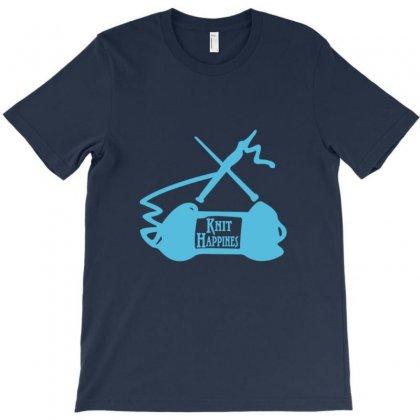 Knit Happens T-shirt Designed By Rita