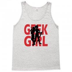 geek girl 3 4 sleeve baseball Tank Top | Artistshot