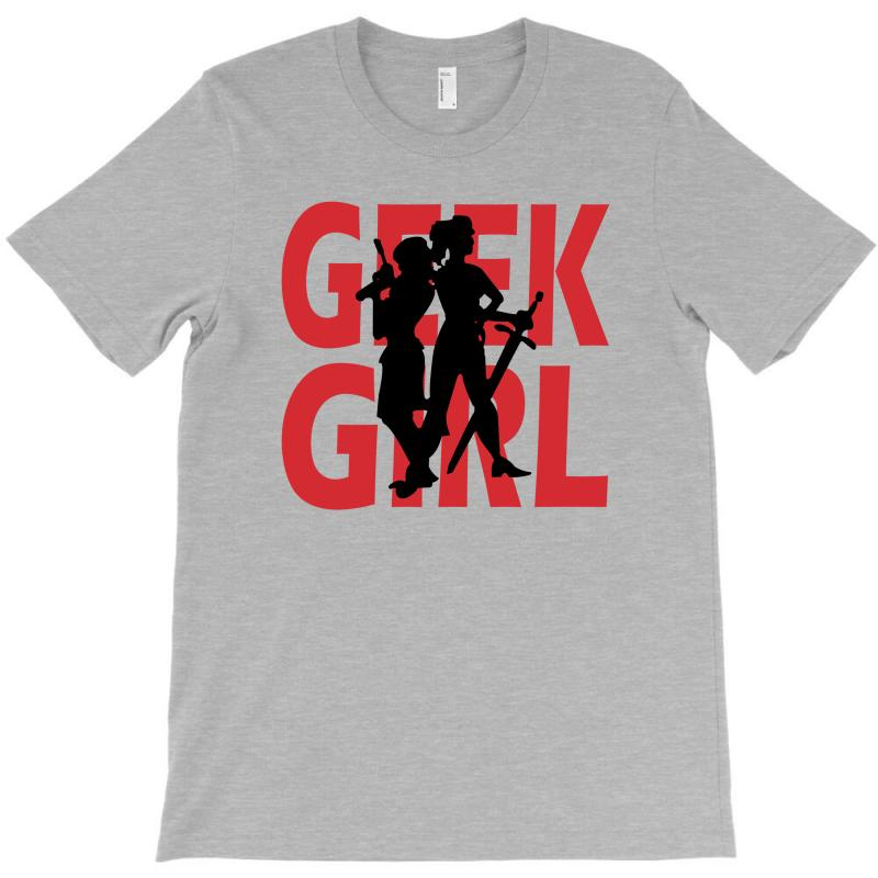 Geek Girl 3 4 Sleeve Baseball T-shirt | Artistshot