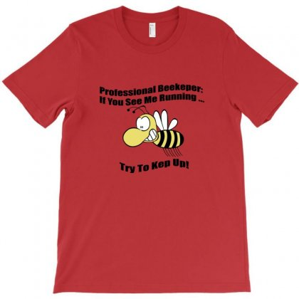 Professional Beekeeper Mens T-shirt Designed By Rita