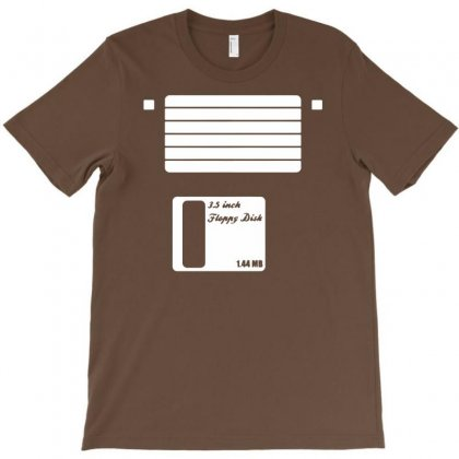 Floppy Disk T-shirt Designed By Mdk Art
