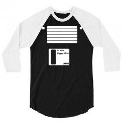 floppy disk 3/4 Sleeve Shirt | Artistshot