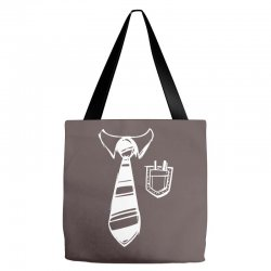 geek pocket protector tie Tote Bags | Artistshot