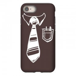 geek pocket protector tie iPhone 8 Case | Artistshot