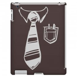 geek pocket protector tie iPad 3 and 4 Case | Artistshot