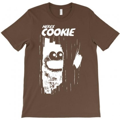 Here's Johnny Cookie T-shirt Designed By Mdk Art