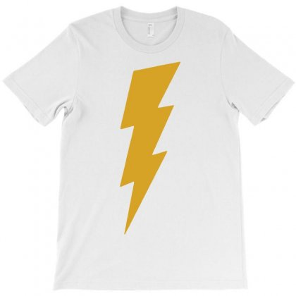 Lightning Bolt Camera Flash T-shirt Designed By Mdk Art