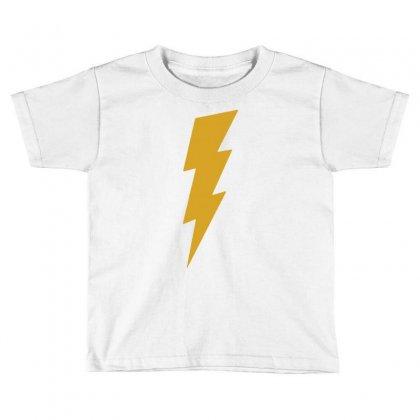 Lightning Bolt Camera Flash Toddler T-shirt Designed By Mdk Art