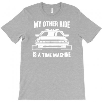 My Other Ride Is A Time Machine T-shirt Designed By Mdk Art