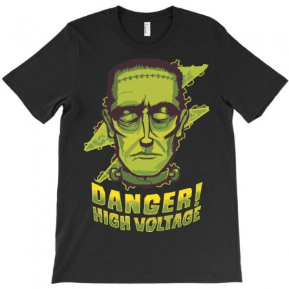 Halloween Frankenstein T-shirt Designed By Sbm052017