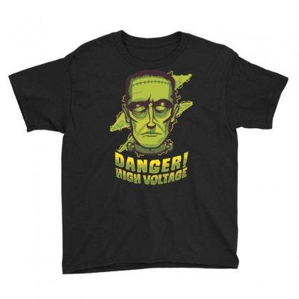Halloween Frankenstein Youth Tee Designed By Sbm052017