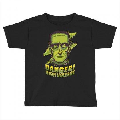 Halloween Frankenstein Toddler T-shirt Designed By Sbm052017