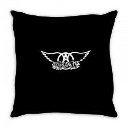 aerosmith classic rock music steven tyler Throw Pillow | Artistshot
