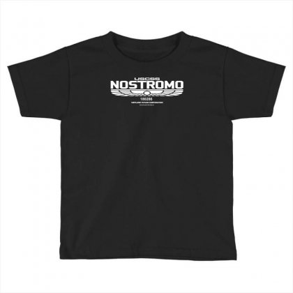 Alien   Nostromo   Cult Movie Toddler T-shirt Designed By Mdk Art