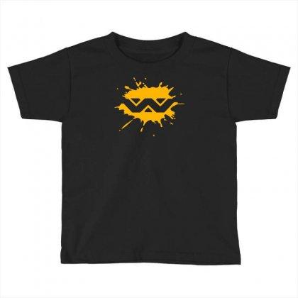 Alien Weyland Yutani Corporation Splat Toddler T-shirt Designed By Mdk Art