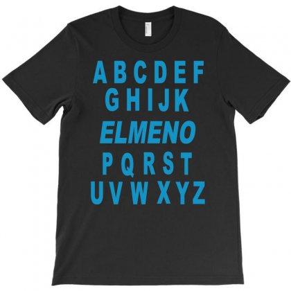 Alphabet Abc Elemno T-shirt Designed By Mdk Art