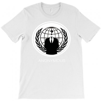 Anonymous Group Occupy Hacktivist Pipa Sopa Acta   V For Vendetta T-shirt Designed By Mdk Art