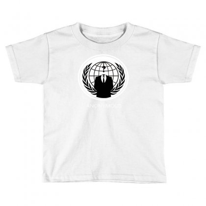 Anonymous Group Occupy Hacktivist Pipa Sopa Acta   V For Vendetta Toddler T-shirt Designed By Mdk Art
