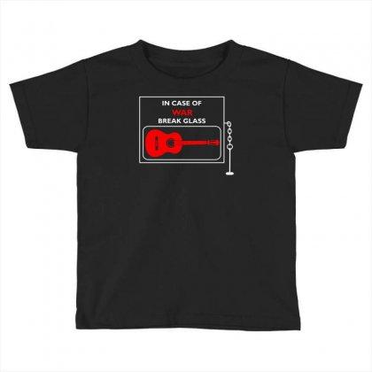 Anti War Guitar Folk Music Writers Toddler T-shirt Designed By Mdk Art