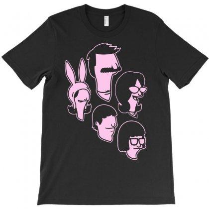 Belcher Family T-shirt Designed By Mdk Art