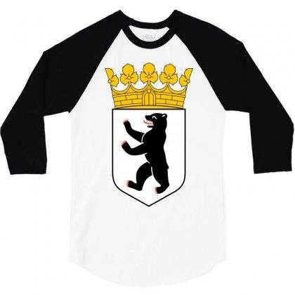 Berlin 3/4 Sleeve Shirt Designed By Mdk Art