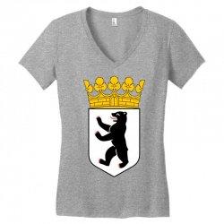 berlin Women's V-Neck T-Shirt | Artistshot