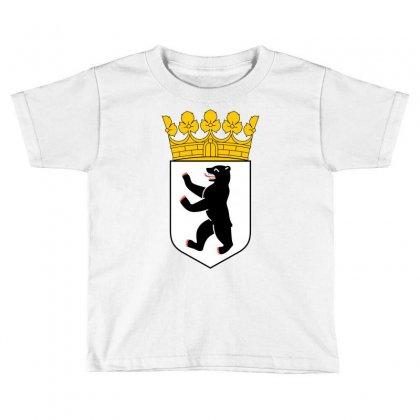 Berlin Toddler T-shirt Designed By Mdk Art
