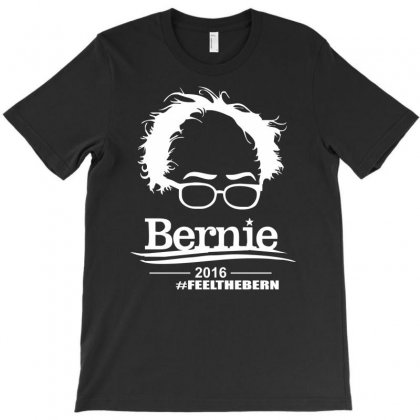 Bernie Sanders 2016 For President Election Campaign T-shirt Designed By Mdk Art