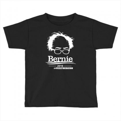 Bernie Sanders 2016 For President Election Campaign Toddler T-shirt Designed By Mdk Art