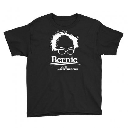 Bernie Sanders 2016 For President Election Campaign Youth Tee Designed By Mdk Art