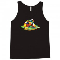 big bang theory sheldon cooper melting rubik's cube cool geek Tank Top | Artistshot