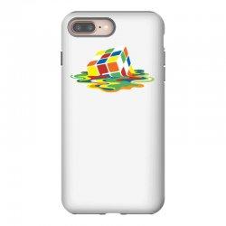 big bang theory sheldon cooper melting rubik's cube cool geek iPhone 8 Plus Case | Artistshot