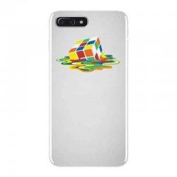 big bang theory sheldon cooper melting rubik's cube cool geek iPhone 7 Plus Case | Artistshot