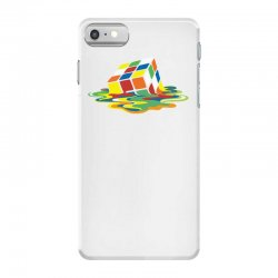 big bang theory sheldon cooper melting rubik's cube cool geek iPhone 7 Case | Artistshot