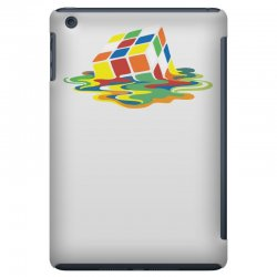 big bang theory sheldon cooper melting rubik's cube cool geek iPad Mini Case | Artistshot