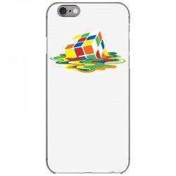 big bang theory sheldon cooper melting rubik's cube cool geek iPhone 6/6s Case | Artistshot