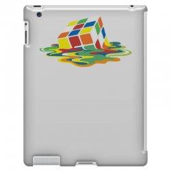 big bang theory sheldon cooper melting rubik's cube cool geek iPad 3 and 4 Case | Artistshot