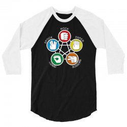 big bang theory sheldon rock 3/4 Sleeve Shirt | Artistshot