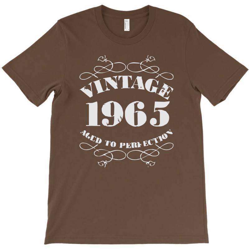 Gift Boxed Vintage 1965 50th Birthday T Shirt