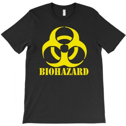 Biohazard Emo Gamer Cool Rock Music T-shirt Designed By Mdk Art