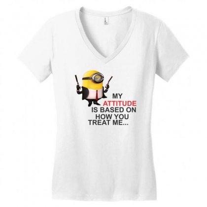 Hitman Women's V-neck T-shirt Designed By Cuser388