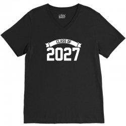 class of 2027 V-Neck Tee | Artistshot