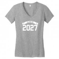 class of 2027 Women's V-Neck T-Shirt | Artistshot