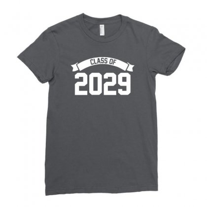 Class Of 2029 Ladies Fitted T-shirt Designed By Cuser388