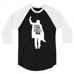 don't you forget about me 80's party music retro 3/4 Sleeve Shirt   Artistshot