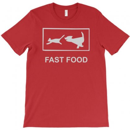 Fast Food Funny T-shirt Designed By Cuser388